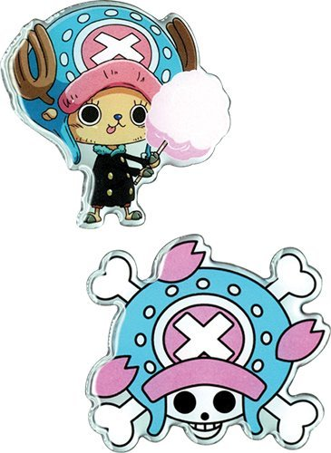 One Piece: Chopper and Chopper Skull Metal Pins ~ Tony Tony Chopper by One ()