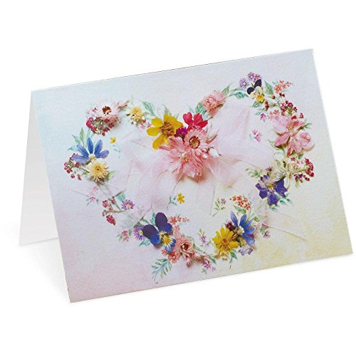 Wreath Note (Heart Wreath Note Cards, 4