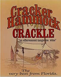 NV Florida Orange Groves Cracker Hammock Crackle Sparkling Tangerine Wine 750 mL