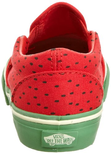 Mixte Rouge Slip tr 3 Bébé Mode Baskets Vans Kids h5 on Classic 87w6wY