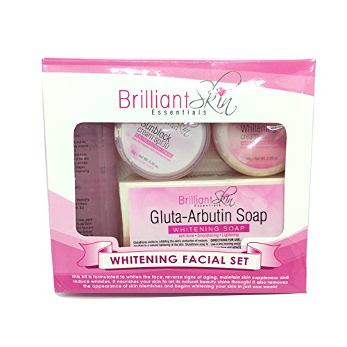 Brilliant Skin Essentials Rejuvenating or Whitening Facial Set (Whitening)