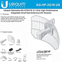 Ubiquiti airGrid M2 HP 5-pack 2.4GHz 16dBi Airmax CPE 100+Mbps 30km+ PoE