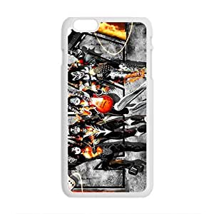 2015 Multi-patterns Print Design Protective KISS BAND Cover Case For iphone 4 4s inch Cover Hard Popular Phone for iphone 4 4s inch Case-08