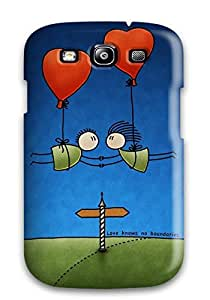 Tpu Shockproof/dirt-proof Humor Cartoon Cover Case For Galaxy(s3)