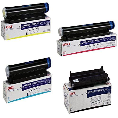 OKIdata OKICOLOR 8 High Yield Toner Cartridge Set