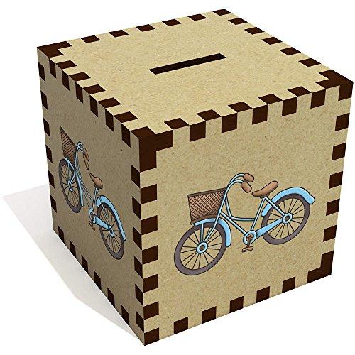 Azeeda 'Dutch Bike Basket' Money Box / Piggy Bank (MB00066843) (Box Dutch)