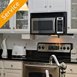 Over-the-Range Microwave Oven Installation - Replacement and Haul-Away