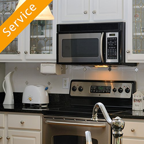 Over-the-Range Microwave Oven Installation - Replacement and Haul-Away - Microwave Oven Repair
