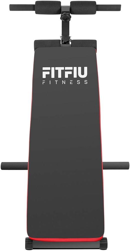 FITFIU Fitness BA-20 - Banco Abdominales plegable y ajustable ...