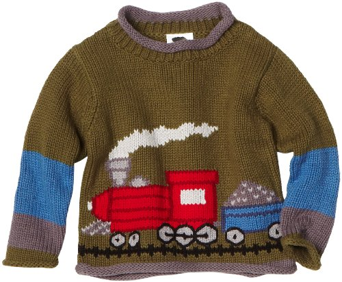 Mulberribush Little Boys' Train Sweater