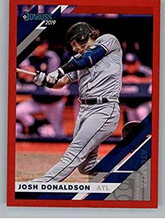 Amazon Com 2019 Donruss Holo Red Baseball 91 Josh