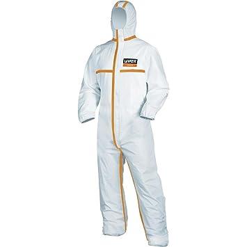 893150. Uvex traje de protección desechable tipo 4 talla XXXL ...