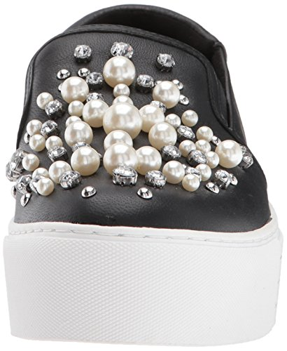 buy cheap looking for 100% original for sale Kenneth Cole New York Women's Ashby Pearl Platform Slip Faux Jewels Sneaker Black 1tTCfwX