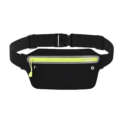 8e8b6c0eb769 Amazon.com : ALACHI USA Running Belt Slim, Women Men Sports Running ...