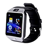 Corelink dz30 [CE RoHs Approval] DZ09 Bluetooth Smart Watch, Anti-Lost, Touch Screen, Wrist Wrap Watch, Phone Pedometer with Camera TF Card Solt for Android Phone - Black