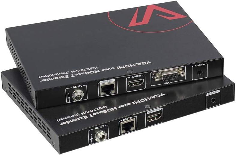 Av Access Vga Hdmi Extender Hdbaset Poe Auto Switch Computer Zubehör