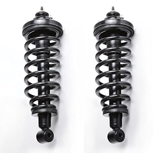 (BROSCONE S0243-S0243 2 Pieces Rear Suspension Shocks Complete Struts And Coil Spring Assembly Fits 2006 2007 2008 2009 2010 Ford)