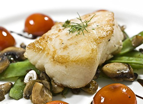 10 lb of Wild Chilean Sea Bass Portion 8 oz IVP