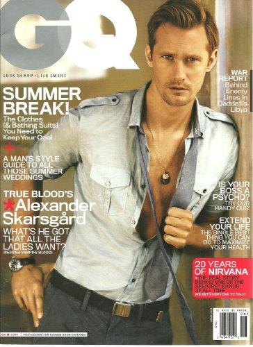 GQ Magazine (June, 2011) True Blood's Alexander Skarsgard Cover