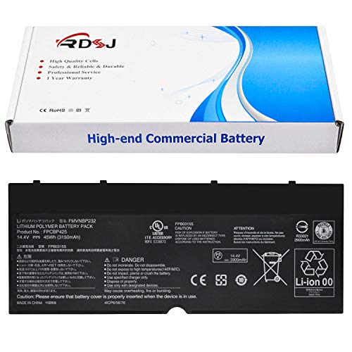 (FPCBP425 FMVNBP232 Laptop Battery Compatible Fujitsu Lifebook U745 T935 T904U Series 14.4V 45Wh)