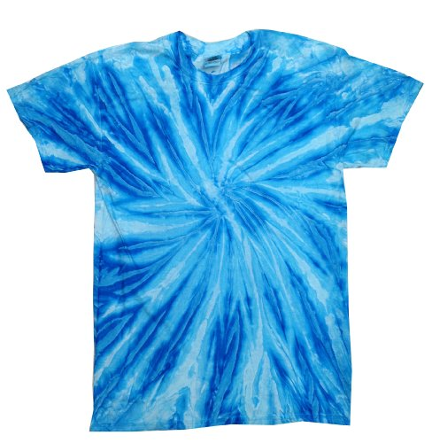 - Colortone Tie Dye T-Shirt XL Neon Blueberry