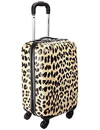 Rockland F191 Luggage Carry On Skin, Leopard, Medium, 20-Inch