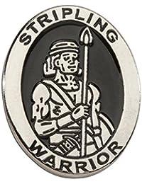 Cherished Moments LDS Stripling Warrior Tie Tac (Silver Tone)