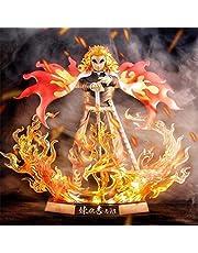 21 Cm Demon Slayer Figuur Rengoku Kyojuro Actiefiguren Anime Kimetsu Geen Yaiba Model Collectible Figures Speelgoed