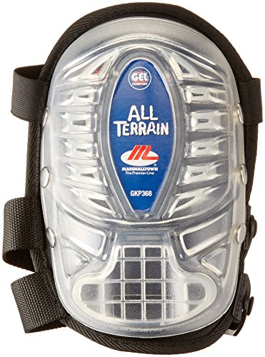 Terrain All Knee Pads Gel (MARSHALLTOWN The Premier Line GKP368 Gel Knee Pads Large 2-In-1 Cover)
