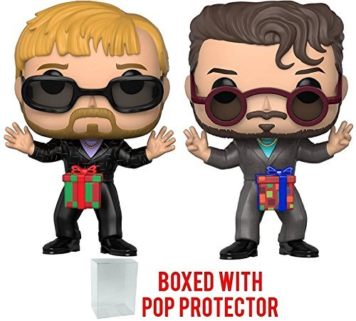 Funko Pop! TV: Saturday Night Live - SNL Dick in a Box 2-Pack Vinyl Figure (Bundled with Pop Box Protector Case) -