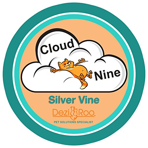 Cloud Nine Silver Vine by Dezi & Roo - All-Natural Cat Toy More Potent Than Catnip