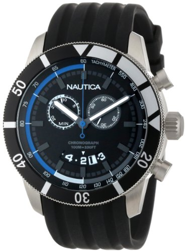- Nautica Men's N17583G NSR 08 Sporty Resin Watch