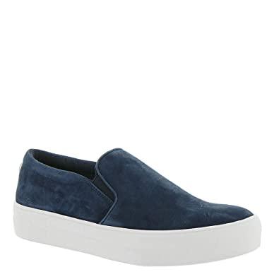 47c86261e77 Steve Madden Women s Gills Sneaker Navy Suede 5 ...
