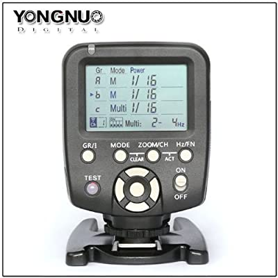 YONGNUO YN560-TX for Canon Flash Transmitter Provide Remote Manual Power Control for YN-560 III Manual Flash Units Having Manual RF-602 RF-603 RF-603 II Compatible Radio Receivers Built In from Digitalmedia01