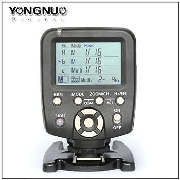 YONGNUO YN560-TX for Canon Flash Transmitter Provide Remote Manual Power Control for YN-560 III Manual Flash Units Having Manual RF-602 RF-603 RF-603 II Compatible Radio Receivers Built In