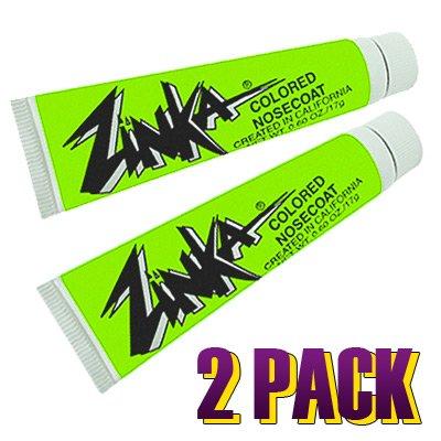 Zinka Colored Sunblock Zinc Nosecoat Bundle (Set of 2) - Green by Zinka