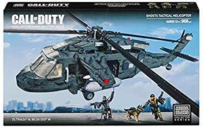 Mega Bloks® Call of Duty®, Ghosts Tactical Helicopter - Item #06858
