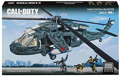 Mega Bloks Call of Duty Ghosts Tactical Helicopter (Mega Bloks Call Of Duty Tactical Helicopter)