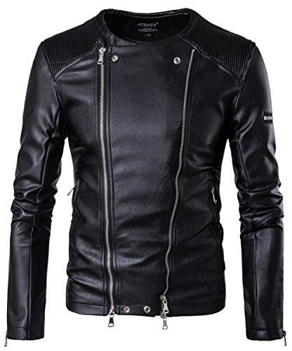 Black B001 Chaqueta chaqueta hombre para YYZYY OqIXwnHaw