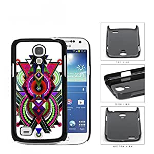 Cool Abstract Tribal Nebula Design Samsung i9190 Galaxy S4 Mini Hard Snap on Plastic Cell Phone Cover