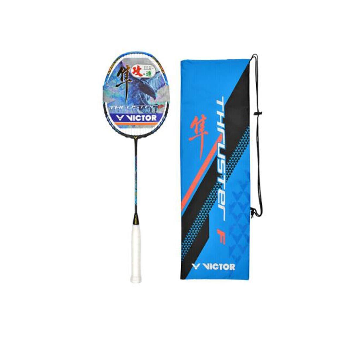 8HAOWENJU バドミントンラケット、攻撃的フルカーボンバドミントンラケット、シングルショットTK-F隼4U(プロ選手用ラケット) 厳選された B07SVVQXF2 4U