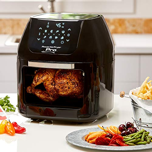 Power XL Airfryer Pro 6 QT With 7 in 1 Cooking Features with Rotisserie