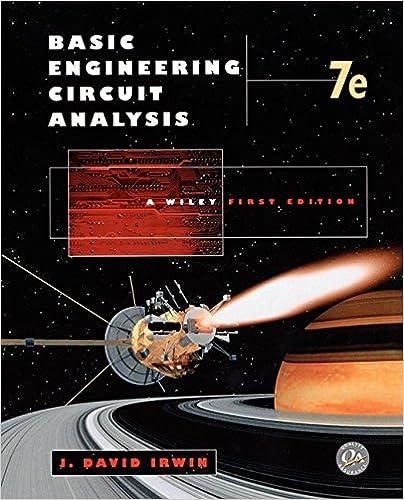 Basic Engineering Circuit Analysis 7th Edition J David