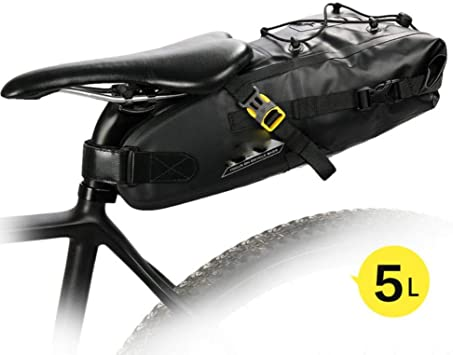 WOOAI 10L 12L Bolsa de sillín de Bicicleta a Prueba de Agua ...