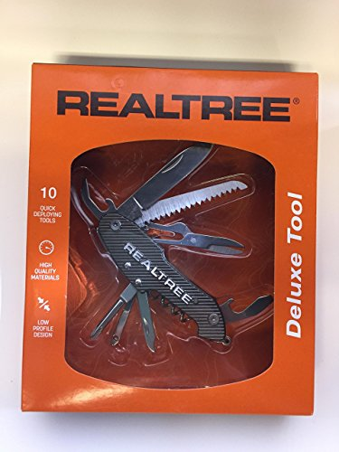 Realtree deluxe multi tool with 10 Quick Deploying Tools