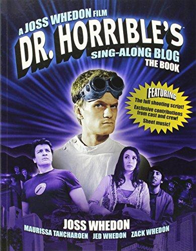Dr Horrible's Sing-Along Blog (Sing Along Sheet)