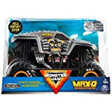 MJ New 2019 Monster JAM 1:24 Scale Silver Maximum Destruction MAX-D