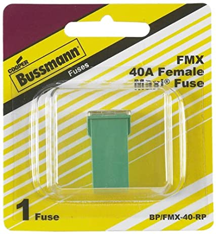 51ZwZw1QkuL._SY463_ amazon com bussmann (bp fmx 40 rp) green 40 amp female maxi fuse  at crackthecode.co