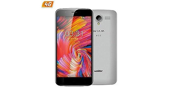 Wolder Wiam 33 - Smartphone con Pantalla de 5.5 (13.9cm HD IPS ...