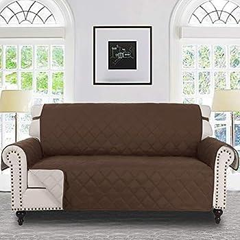Amazon.com: Le Benton - Funda de sofá reversible acolchada ...